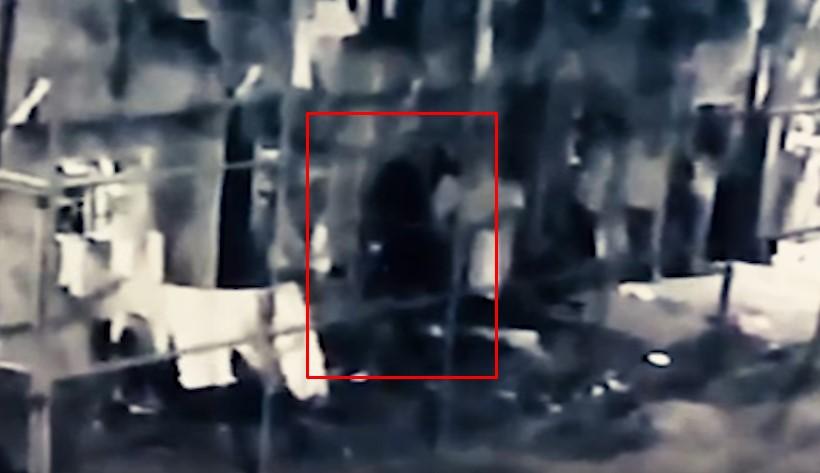 Призрака сняли на камеру слежения в бразильской тюрьме