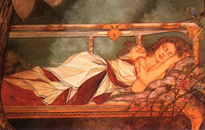 Тисульская принцесса — спящая красавица