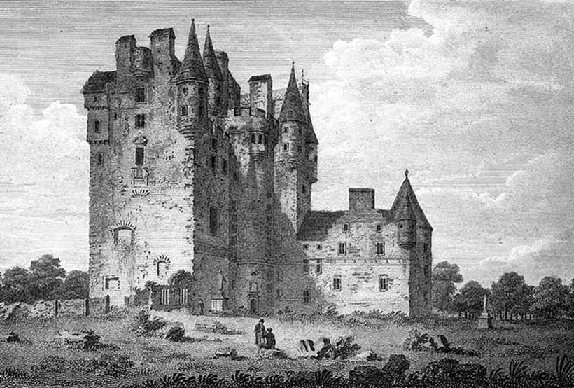 Замок Глэмис ХVIII век