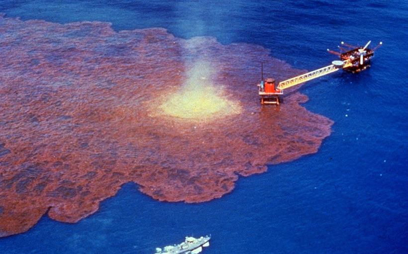Авария на нефтяной платформе Deepwater Horizon