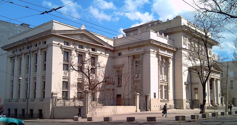 Библиотека имени Горького в Одессе