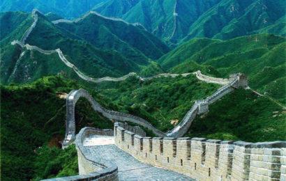 Великая Китайская стена — сравнение фотографий