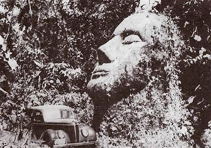 Гигантская голова в Гватемале