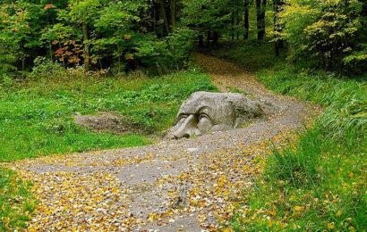 Тайна каменной головы из Сергиевского парка