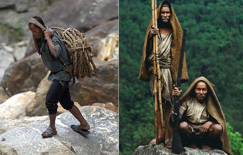 Сборщики мёда в Непале