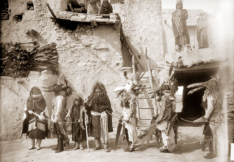 an analysis of the hopi indians who live in the three isolated mesas Three rocky mesas (called first mesa some hopi also live on the colorado indian tribes reservation in parker e hopi s isolated location.