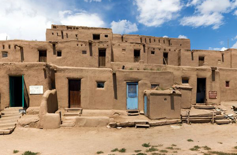 Дома индейцев хопи
