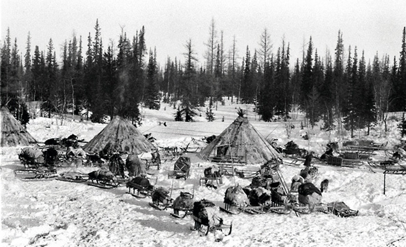 Деревня эскимосов