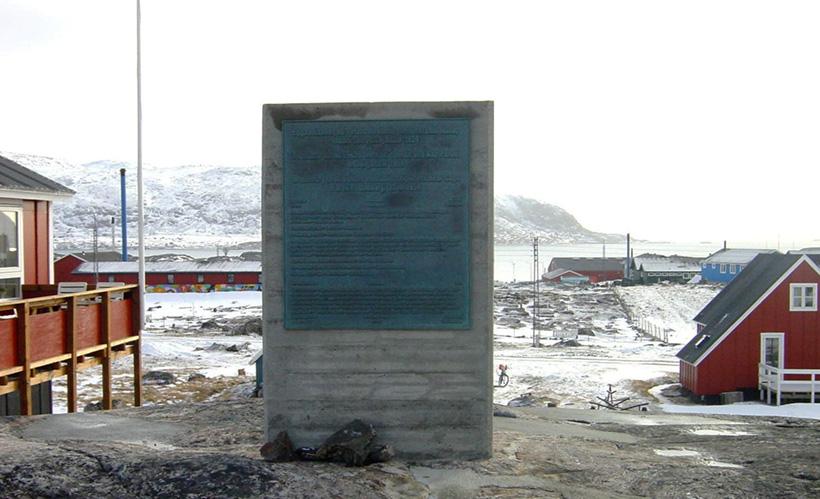Мемориал погибшим Ханса Хедтофта