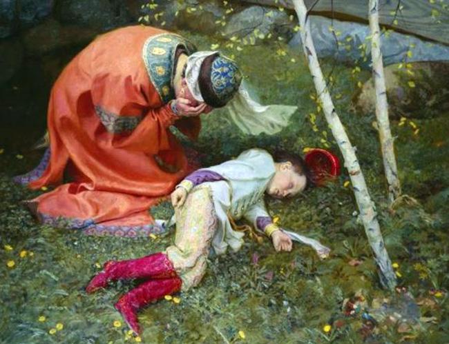 Мария Нагая и царевич Димитрий