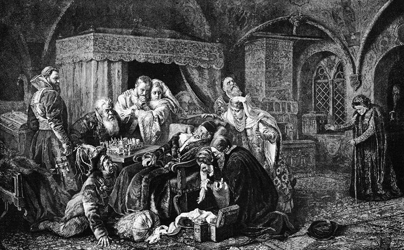 Смерть Ивана Грозного