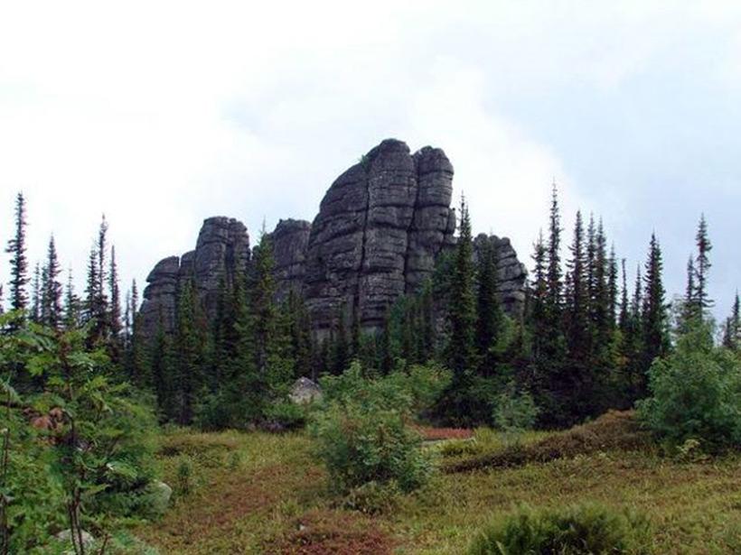 Мегалиты горы Изыгаш