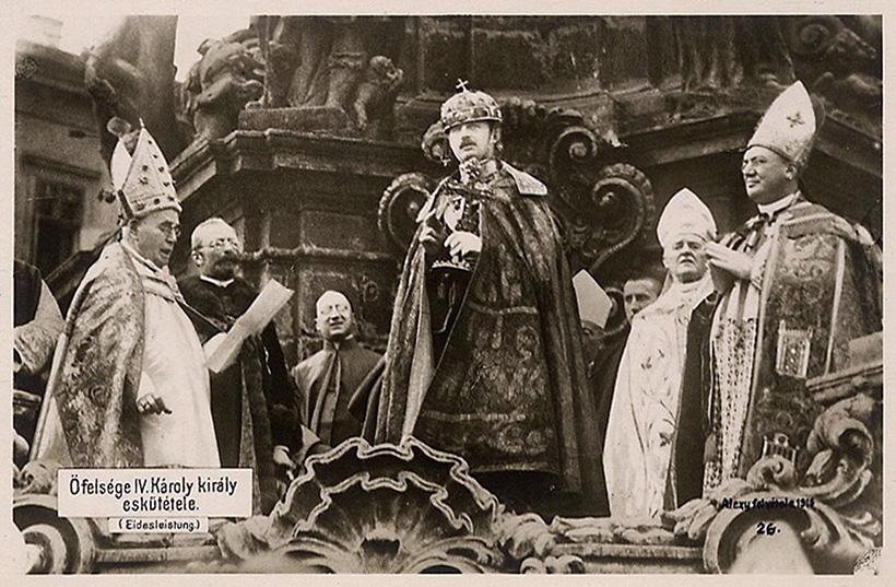 Коронация Карла IV