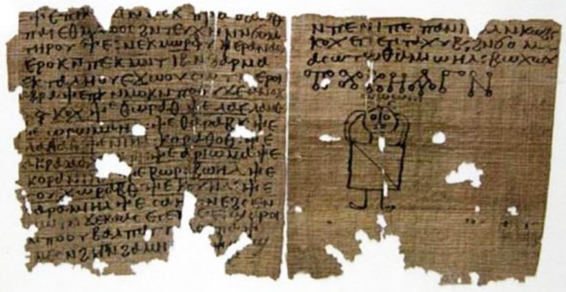 Коптский кодекс магических заклинаний