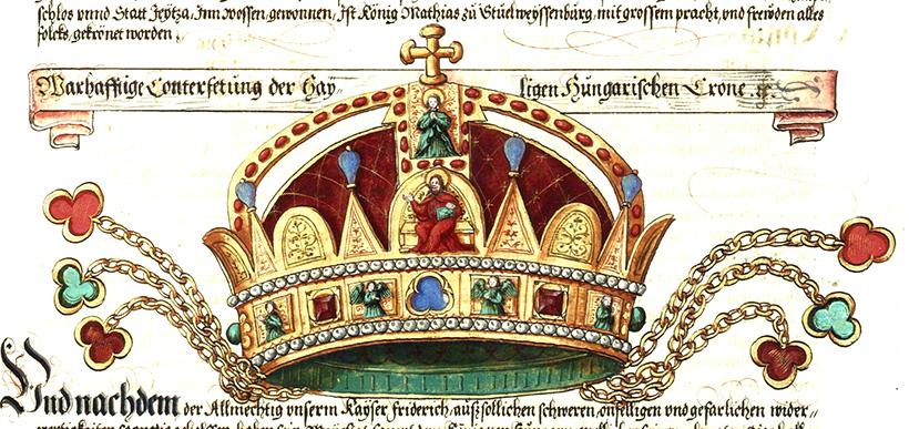 Старейшее подлинное изображение Святой Короны