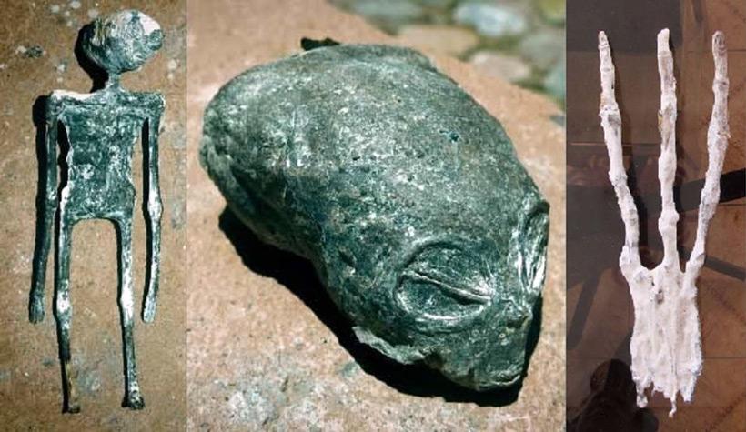 Мумифицированные останки гуманоидов