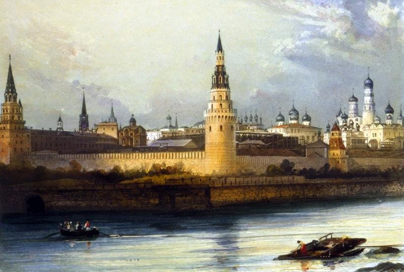 Картина старой Москвы
