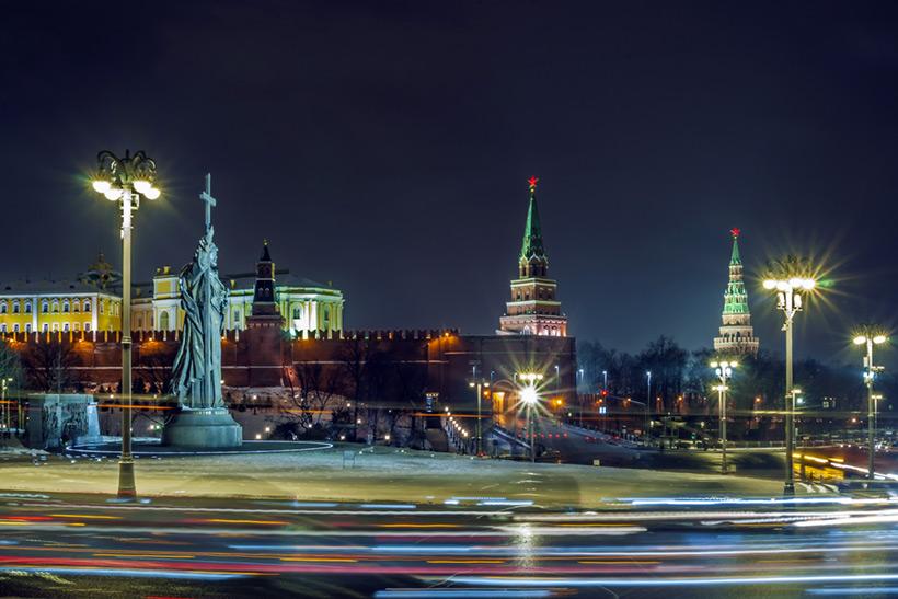Памятник Владимиру Великому на Боровицкой  площади