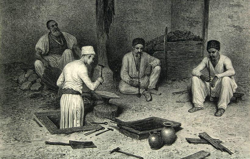 Кузница в Бахчисарае