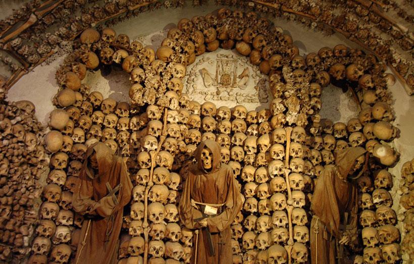 Крипта церкви Санта-Мария-делла-Кончеционе