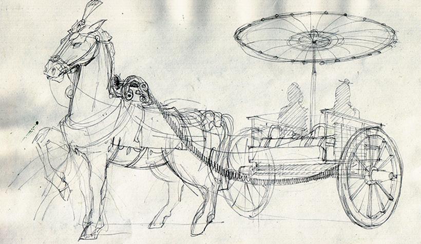 Реконструкция колесницы
