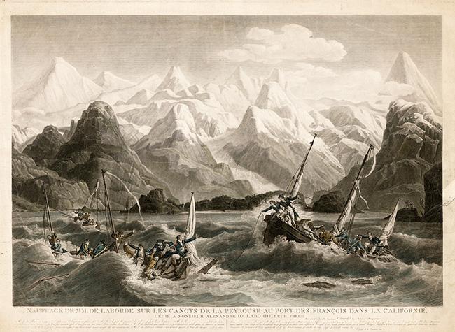 Гибель шлюпок экспедиции Лаперуза