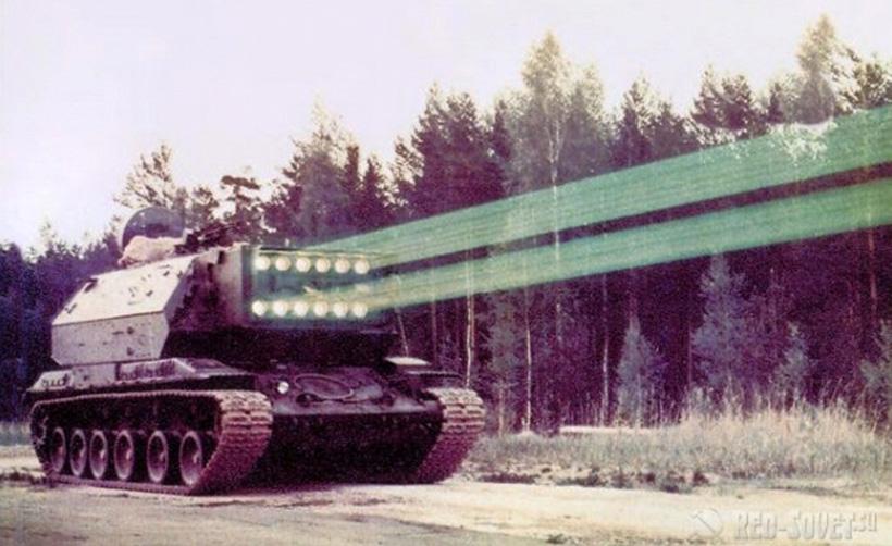 Советские эксперименты по созданию лазерного оружия