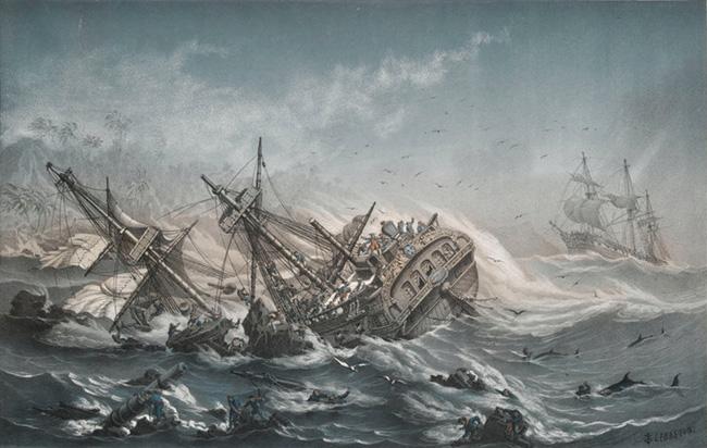 Кораблекрушение у острова Ваникоро