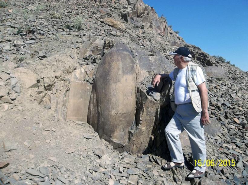 Артефакты в долине реки Сангзар