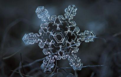 Таинственный мир снежинок