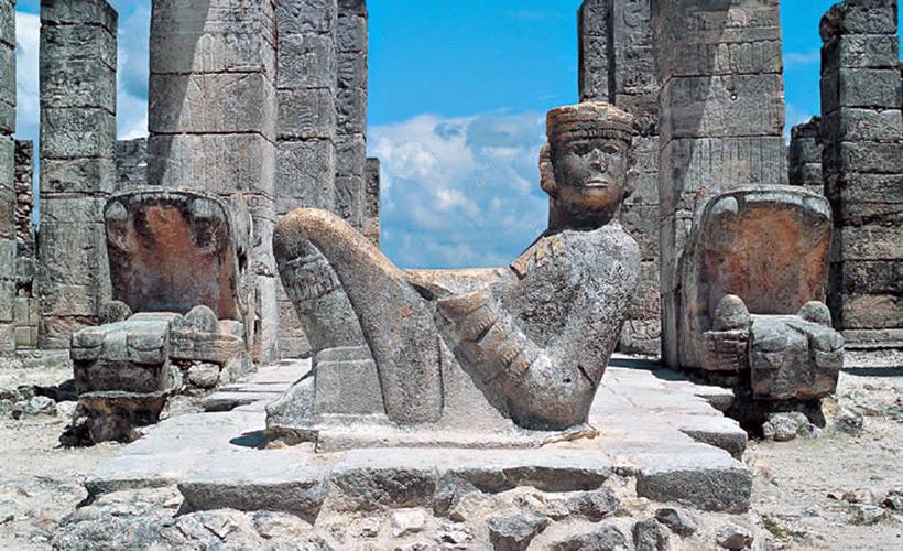 скульптура Чак-Мооля