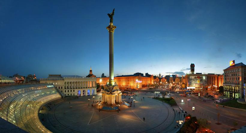 Площадь Майдана в Киеве
