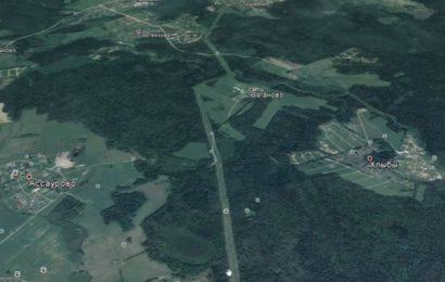 Древние прямоезжие дороги хорошо видны с современных спутников