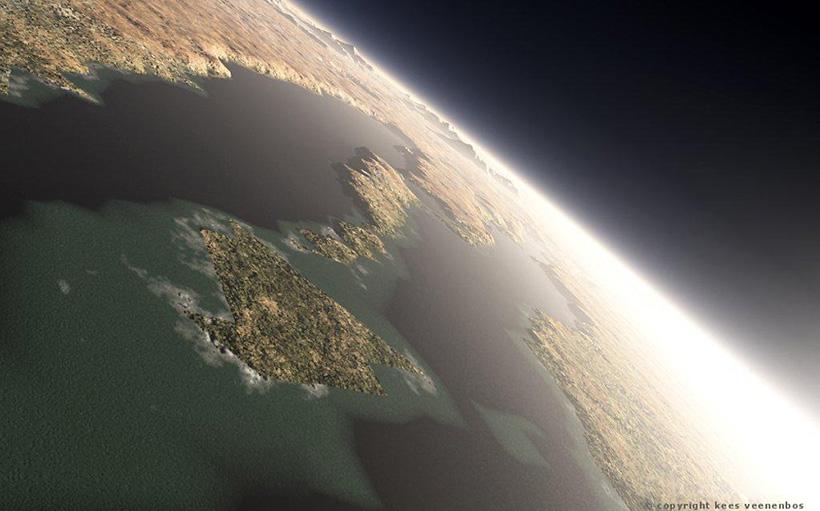 Море Гесперия, гесперийская эра