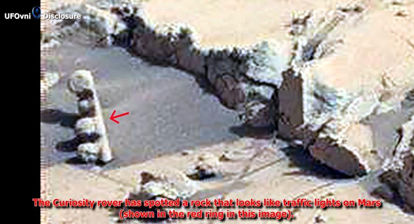 Странные находки на Марсе
