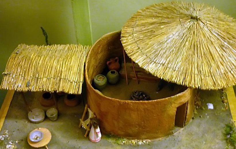 Реконструкция меотского жилища