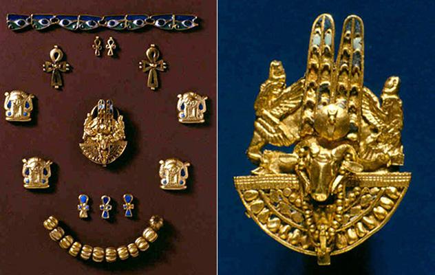 Ювелирные изделия из гробницы королевы Аманишакето в Мероэ