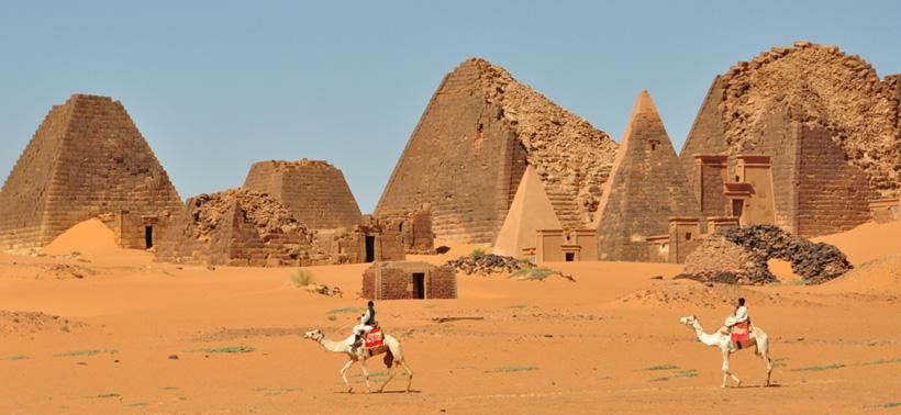Пирамиды Мероитского царства