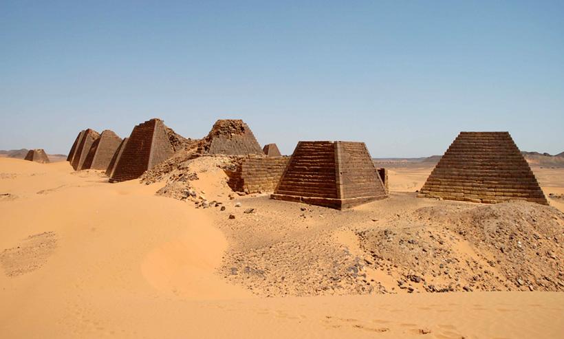 Пирамиды Мероитско царства