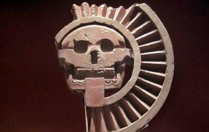 Храм черепов в Мексике