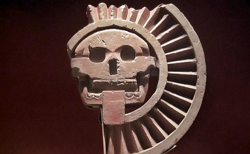 Бог смерти Миктлантекутли