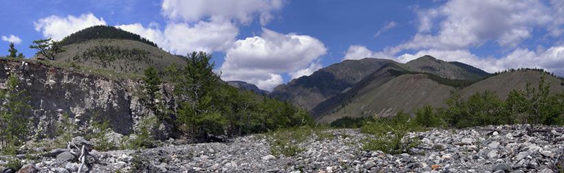 Ущелье реки Риты