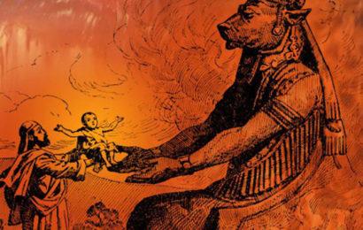 Финикийцы приносили в жертву Молоху собственных детей