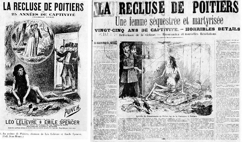 Газетные статьи в местных изданиях об освобождении Мари Бланш