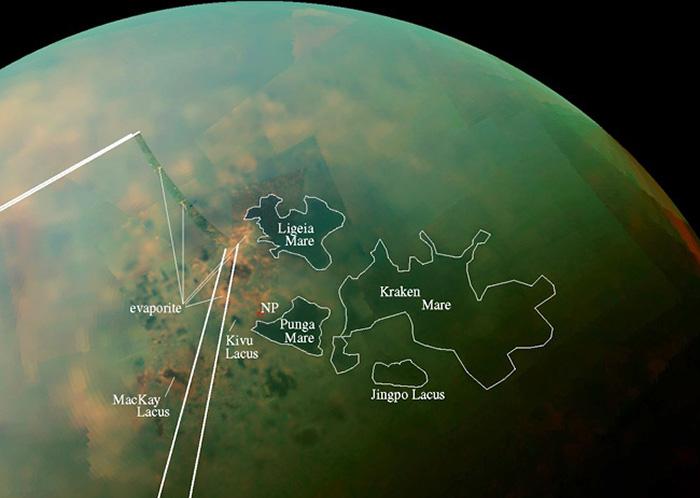 Моря Титана