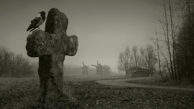 Призраки кладбища