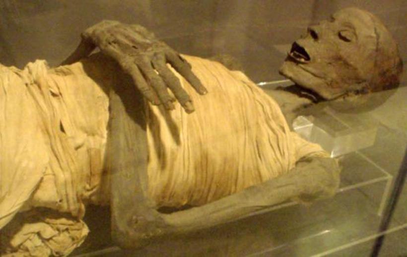 Юзермонту – мумия неизвестного происхождения