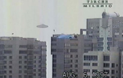 Видеозапись НЛО над Мехико, 1997