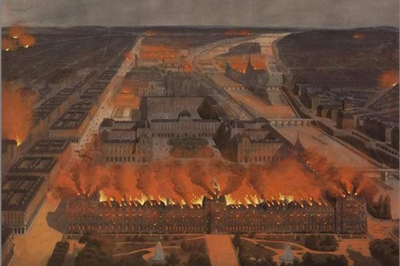 Пожар в Тюирли