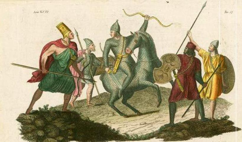 Парфянские воины